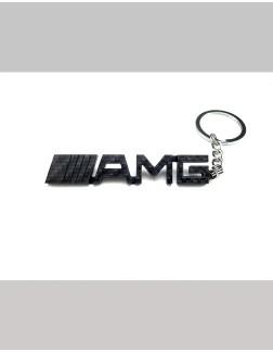 Chaveiro em Fibra de Carbono - AMG