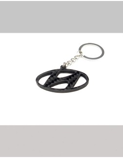 Chaveiro em Fibra de Carbono - Hyundai