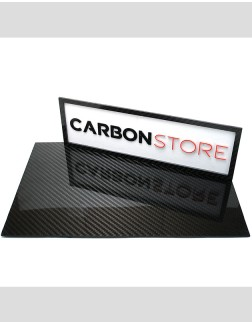 Placa de Fibra de Carbono 390 x 250 x 2,0 mm | Brilhante