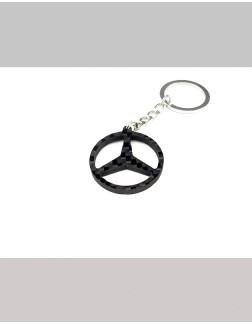 Chaveiro em Fibra de Carbono - Mercedes Benz